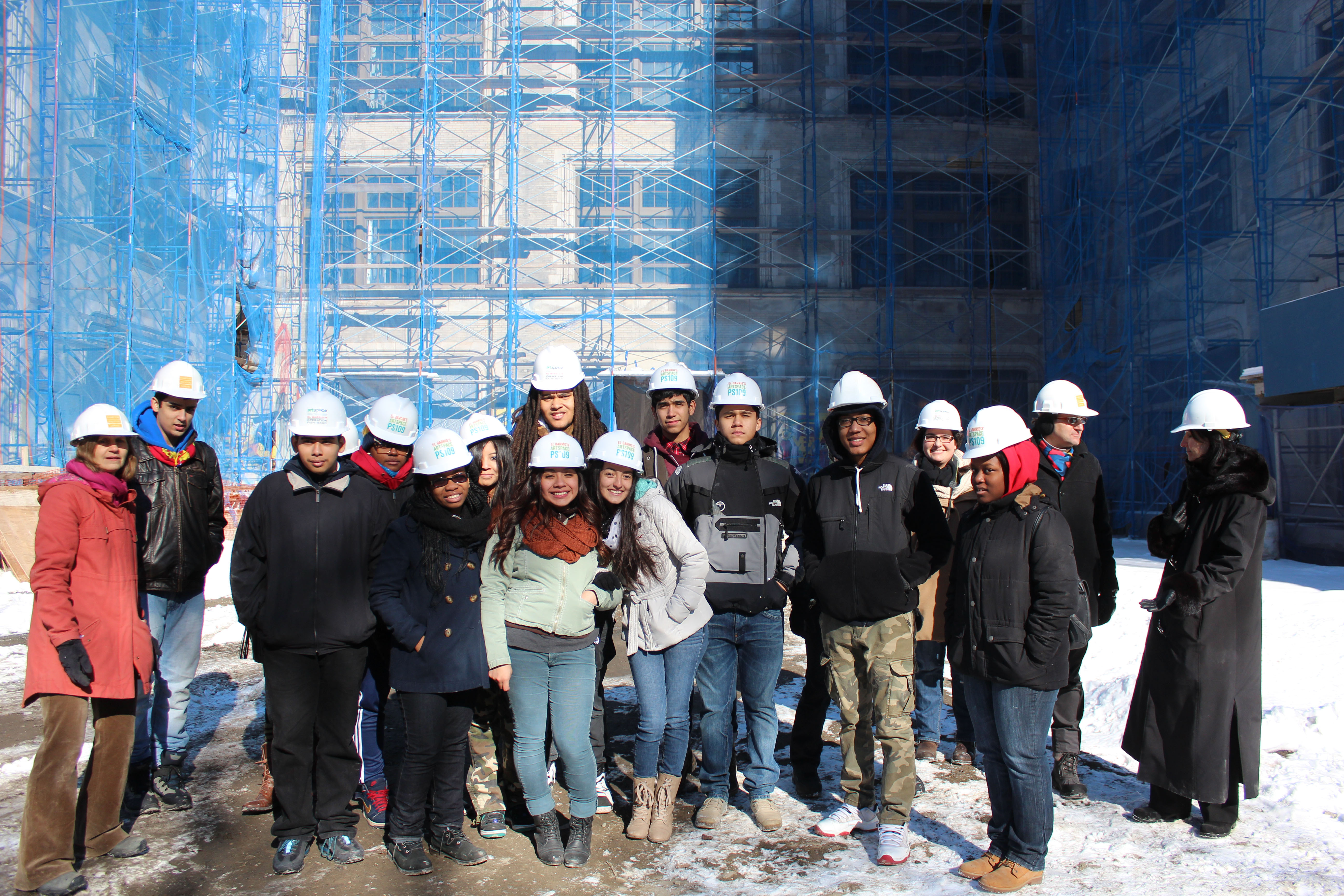 WHSAD Students Learn About Adaptive Reuse Williamsburg High
