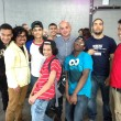 WHSAD students with Esteban DeValle and Angel Garcia lead artists