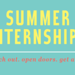 Summer Internship Applications Available!