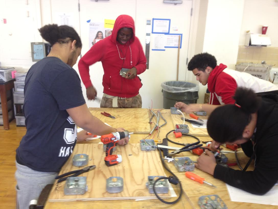 Classroom Electrical Design ~ Electrical class williamsburg high school for