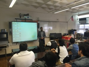 Council Member Antonio Reynoso (34th District- Bushwick, Williamsburg, and Ridgewood) visited WHSAD to kick off our electED officials speaker series
