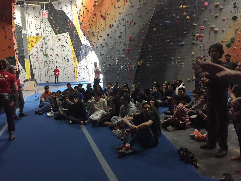 WHSAD Honor Students Visit The Cliffs Rock Climbing Gym at LIC