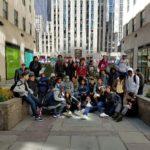 WHSAD 9th Graders Take a Walking Tour of Rockefeller Center