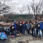 WHSAD Seniors Clean Up Apollo Street with Newtown Creek Alliance