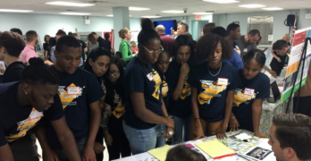 WHSAD's YPLAN Students Involved in Meeker Avenue Visioning Workshop