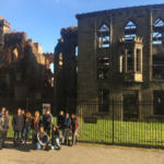 WHSAD Students Working on a Smallpox Hospital Redesign