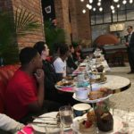 WHSAD's Male Scholars Enjoy High Tea and Learn about Financial Literacy at The Williamsburg Hotel