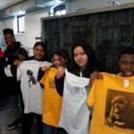WHSAD Students Designing at Kingsland Printing