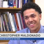 Christopher Maldonado-NY1 Scholar Athlete of the Week