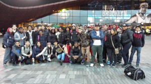 Forty students from WHSAD's honor roll were invited to see the Brooklyn Nets take on the Charlotte Bobcats on March 19th.