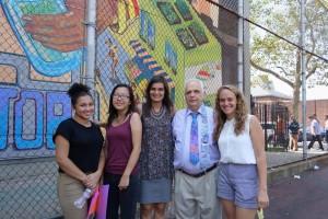 WHSAD Senior and Groundswell Artists with Assemblyman Joe Lentol